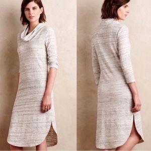 Anthro x Saturday Sunday - Cowl Neck Sweater Dress